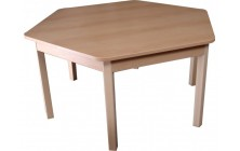 Stůl stavitelný šestiúhelník