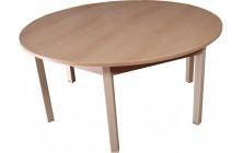 Stůl stavitelný kruh
