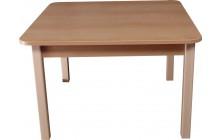 Stůl čtvercový  80x80 cm