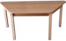 Stůl lichobežníkový