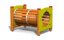 Rourová průlezka dřevěná