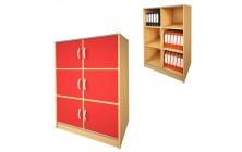 Skříň ST221 úložné prostory pro studenty