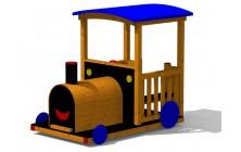 Mašinka dřevěná