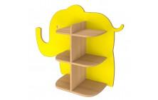 Slon ke stěně