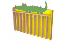 Věšák na ručníky krokodýl