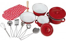 Sada nádobí Red