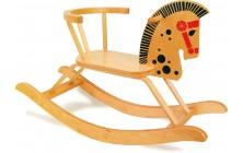 Houpací koník dřevěný