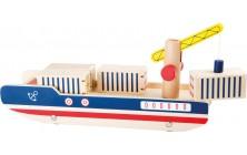 Nákladní loď s jeřábem