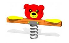 Pružinové 2místné houpadlo Medvídek