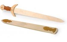 Dřevěné meče Vikingové - 2 ks