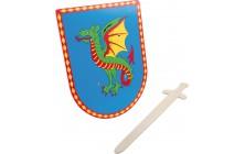 Dračí štít a meč