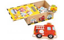 Puzzle box - vozidla