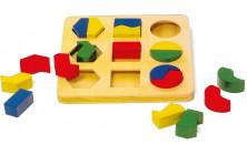 Puzzle Geometrické tvary