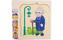 """Puzzle """"Babiččin život"""""""
