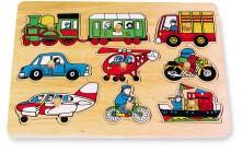 Vkládací puzzle Doprava