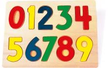 Vkládací puzzle Číslice