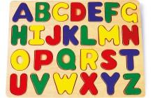 Vkládací puzzle Písmenka