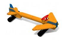 Lavička s volantem - Letadlo