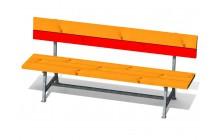 Dětská lavice Beatriz s opěradlem