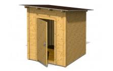 Domek s pultovou střechou