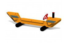 Lavička s volantem - Loď