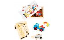 Puzzle box - stavba