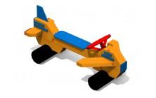 Lavička s volantem - Letadélko