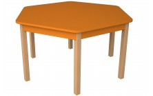 Stůl šestiúhelníkový