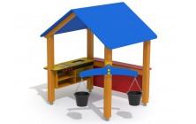 Domeček s kuchyňkou a váhou