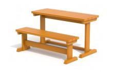Set lavice a stůl